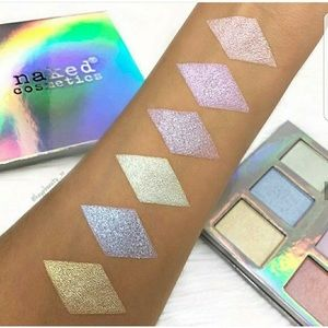 Naked cosmetics holographic highlight palette